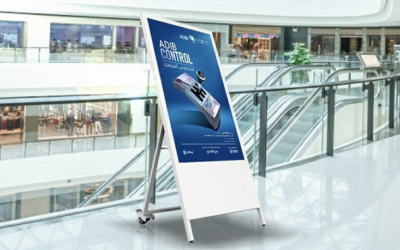 Indoor Mobile Digital Signage