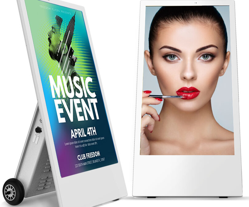 Outdoor Mobile Digital Signage